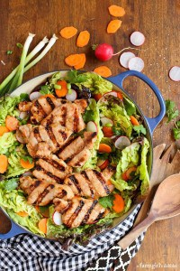grilled pork tenderloin Asian salad