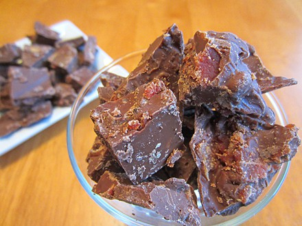 Smoked Chocolate With Bacon