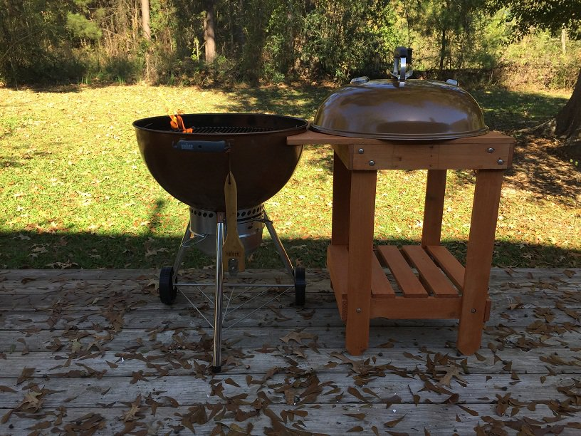 Weber Kettle with Table