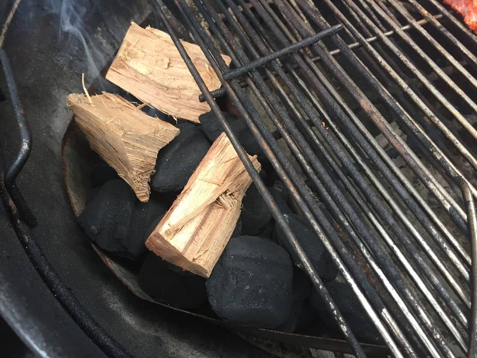 Use Hickory for Smoked ribs