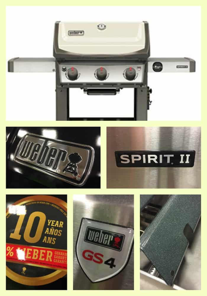 weber spirit ii 210 and 310 review 10 year warranty and a great value. Black Bedroom Furniture Sets. Home Design Ideas