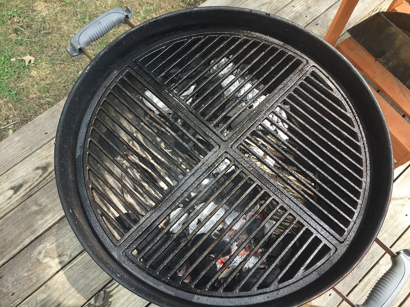 craycort cast iron grill grates: a serious kettle upgrade!