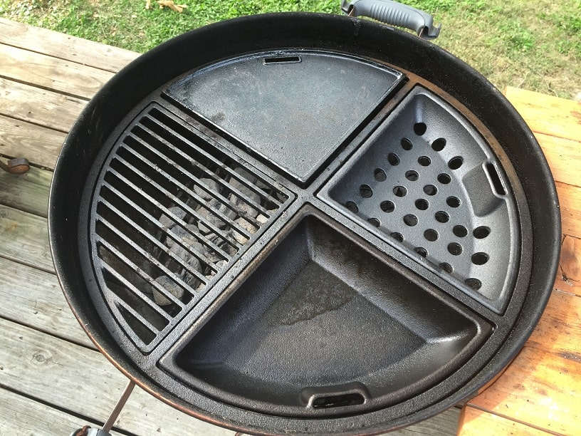 Weber Gas Grill Parts >> Weber Charcoal Grill Accessories: Make your Kettle Even ...