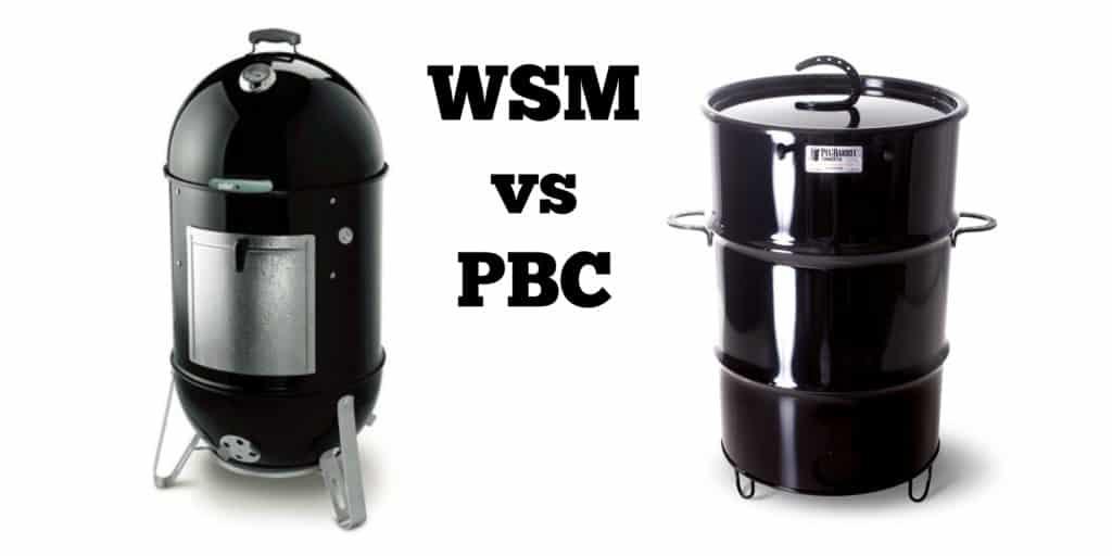 Weber Smokey Mountain Smoker >> Wsm Vs Pbc Two Great Smokers But I Like One Of Them Better
