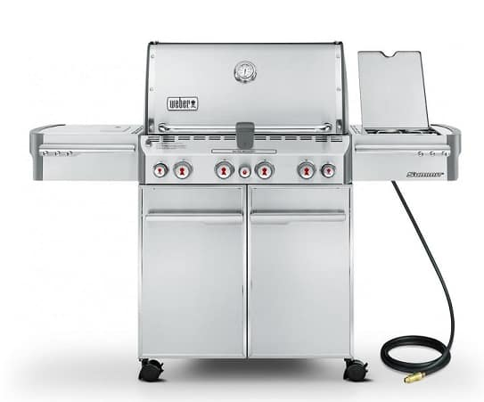Weber Genesis II 410 and LX 440 vs Summit 420 and 470: Four