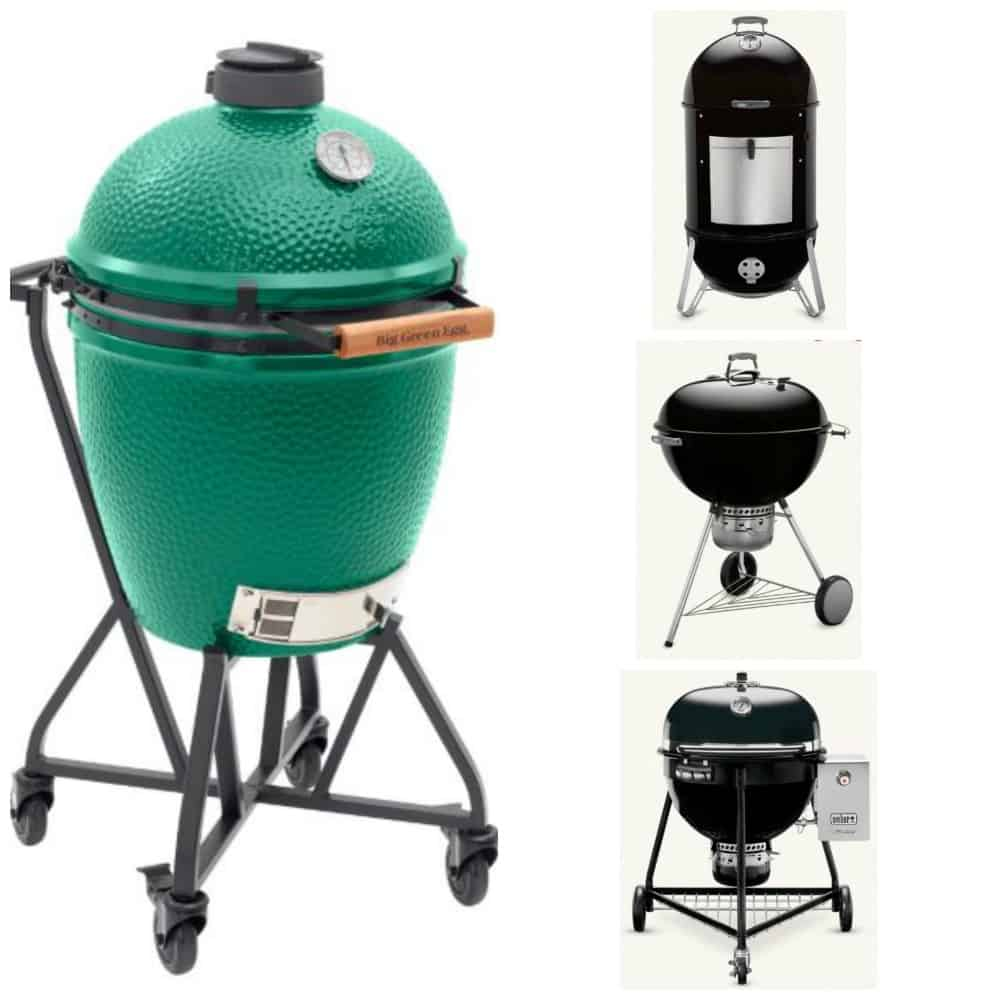 Big Green Egg Vs Weber Two Icons Head To Head